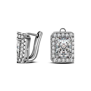 Pentru femei Cercei Stud imitație de diamant Personalizat Hipoalergenic bijuterii de lux Clasic costum de bijuterii Diamante Artificiale