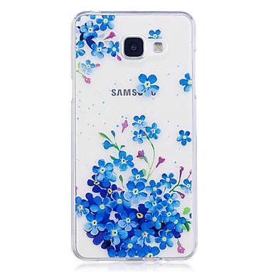 Hülle Für Samsung Galaxy A5(2017) A3(2017) IMD Transparent Muster Rückseite Blume Weich TPU für A3 (2017) A5 (2017) A5(2016) A3(2016)
