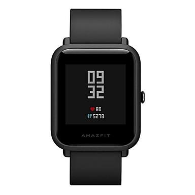 olcso Okos órák-eredeti intelligens óra xiaomi amazfit bip huami mi ip68 gps smartwatch pulzusszám 45 nap készenléti kínai változat
