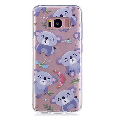 Hülle Für Samsung Galaxy S8 Plus S8 IMD Transparent Muster Rückseite Panda Weich TPU für S8 Plus S8