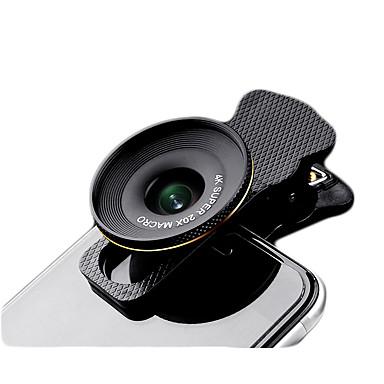 fanbiya mobiele telefoon lens 20x macro lens aluminium legering voor huawei iphone voor iphone 8 7 Samsung Galaxy S8 s7