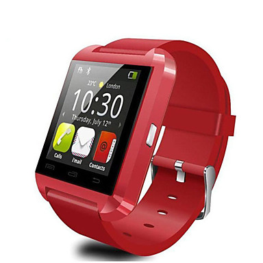 billige Herreure-u8 smartwatch watch bluetooth svar og ringe telefon passometer indbrud alarm funcitons