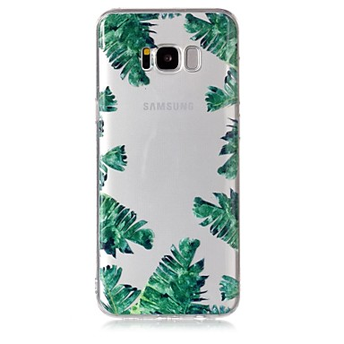 غطاء من أجل Samsung Galaxy S8 Plus S8 شفاف نموذج غطاء خلفي شجرة ناعم TPU إلى S8 S8 Plus S7 edge S7