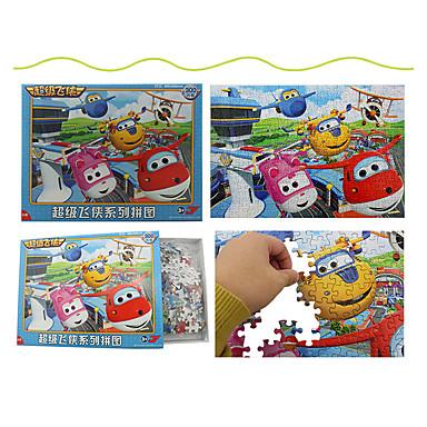 Legpuzzel Houten puzzels Educatief speelgoed Vliegtuig Fruit Overige Hout Anime Cartoon Unisex Geschenk