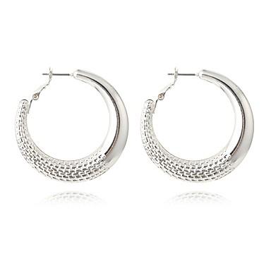 Pentru femei Cercei Rotunzi Bijuterii Personalizat Hipoalergenic La modă Aliaj Circle Shape Round Shape Bijuterii PentruPetrecere Zi de