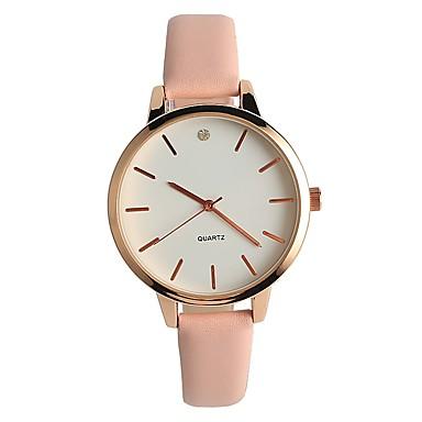 Damen Armbanduhr Modeuhr Japanisch Quartz / PU Band Freizeit Minimalistisch Elegant Rosa