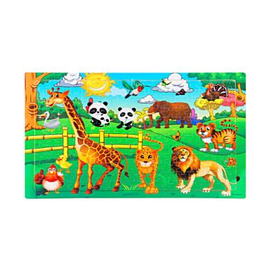 تركيب تركيب خشبي ألعاب تربوية ألعاب الشمس الحيوانات خشب للجنسين قطع