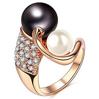 Dames Bandringen Kristal Imitatie Parel Gepersonaliseerde Luxe Klassiek Standaard Sexy Liefde Modieus leuke Style Elegant Kristal
