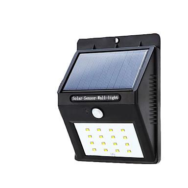 Buiten waterdichte zonne-lichten 16 LED ultra lichte lichtsensor lichten
