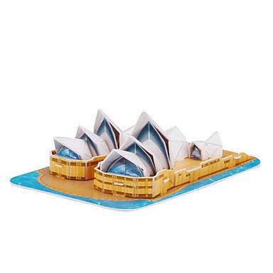 Puzzle 3D Puzzle Modelul de hârtie Jucării Educaționale Jucarii Arhitectură 3D Animale Hârtie Rigidă pentru Felicitări Unisex Bucăți
