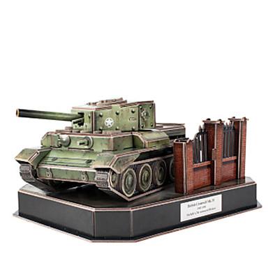 3D - Puzzle Holzpuzzle Modellbausätze Panzer 3D Heimwerken Papier EPS 6 Jahre alt und höher
