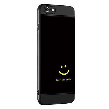 hoesje Voor iPhone 7 iPhone 7 Plus iPhone 6s Plus iPhone 6 Plus iPhone 6s iPhone 6 Apple Patroon Achterkant Woord / tekst Zacht TPU voor