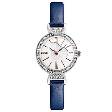SKMEI Pentru femei Ceas de Mână Ceas Elegant  Ceas La Modă Ceas Casual Japoneză Quartz Rezistent la Apă Piele Bandă Lux Creative Casual