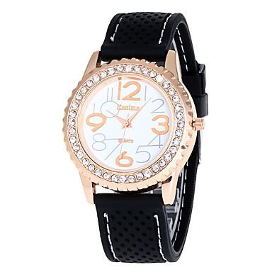 Damen Sportuhr Militäruhr Modeuhr Armbanduhren für den Alltag Armbanduhr Einzigartige kreative Uhr Quartz Silikon BandVintage