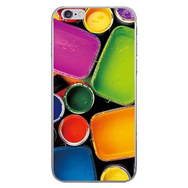 Caz pentru Apple iPhone 7 7 plus carcasa husă pigment hd pictat gros tpu material caz moale caz telefon pentru iphone 6s 6 plus