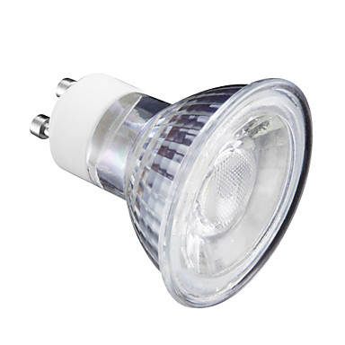 5 W LED สปอตไลท์ 400 lm GU10 MR16 1 ลูกปัด LED ขาวนวล ขาวเย็น 220 V