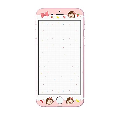 Ecran protector pentru Apple iPhone 6s Plus iPhone 6 Plus Sticlă securizată Ecran Protecție Întreg Model 3D Muchie Curbată 9H Duritate La