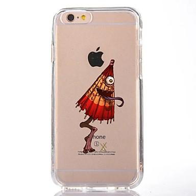 Maska Pentru Apple iPhone 7 Plus iPhone 7 Transparent Model Capac Spate Halloween Desene Animate Moale TPU pentru iPhone 7 Plus iPhone 7