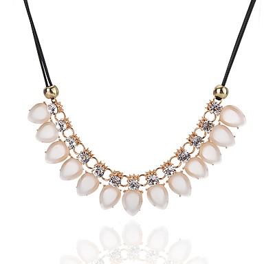 Pentru femei Picătură Clasic Modă stil minimalist Elegant Coliere Cristal Diamant sintetic Cristal Aliaj Coliere . Zilnic Casual Serată
