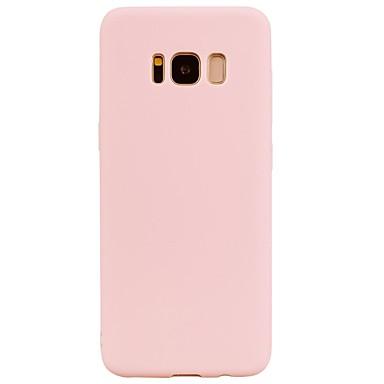 Недорогие Чехлы и кейсы для Galaxy S6-Кейс для Назначение SSamsung Galaxy S8 Plus / S8 / S7 edge болотистый Кейс на заднюю панель Однотонный Мягкий ТПУ