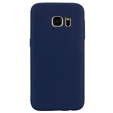 غطاء من أجل Samsung Galaxy S8 Plus S8 شبه شفّاف غطاء خلفي لون الصلبة ناعم TPU إلى S8 Plus S8 S7 edge S7 S6 edge S6