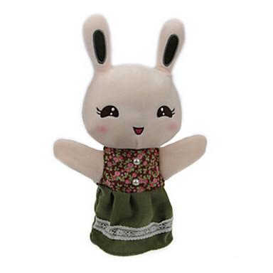Păpuși de Degete Jucării Educaționale Rabbit Urs Tigru Animale Stofă de Bumbac Fete Pentru copii Cadou