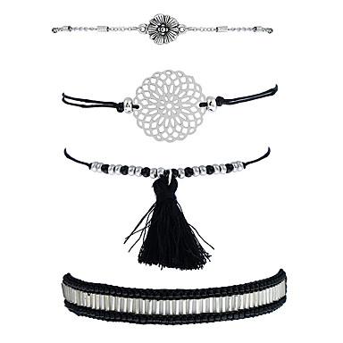 Pentru femei Brățări cu Lanț & Legături Brățări cu Talismane Boem Gotic Ștras Aliaj Bijuterii Casual Scenă Costum de bijuterii