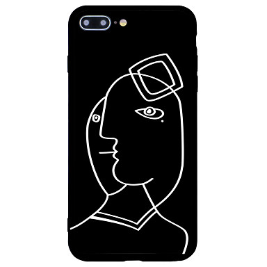 7 iPhone iPhone retro disegno Custodia iPhone Effetto Resistente Fantasia Per Plus Acrilico Con Per 7 ghiaccio 06207123 Apple 7 onde Plus per UXXqtwS