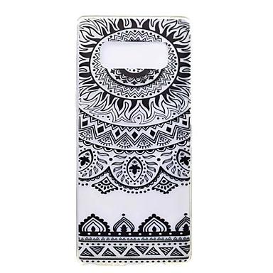 Maska Pentru Samsung Galaxy Note 8 Note 5 Ultra subțire Model Carcasă Spate Mandala Moale TPU pentru Note 8 Note 5 Edge Note 5 Note 4