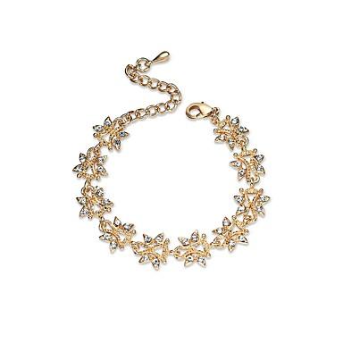 Pentru femei Brățări cu Lanț & Legături Diamant sintetic Clasic Crăciun Ștras Aliaj Geometric Shape Bijuterii Logodnă Ceremonie Costum de