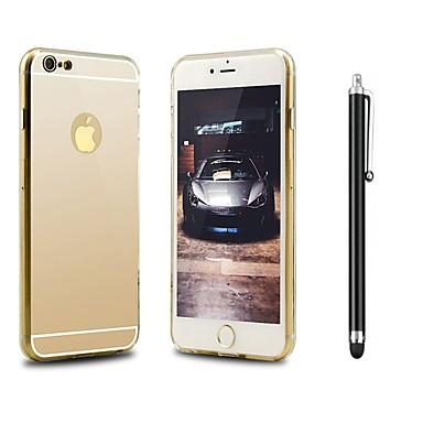 Coque Pour Apple iPhone X iPhone 8 Antichoc Plaqué Miroir Coque Couleur unie Dur Acrylique pour iPhone X iPhone 8 Plus iPhone 8 iPhone 7