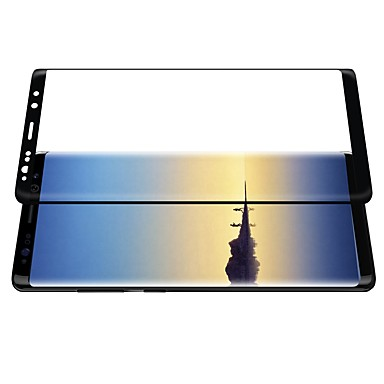 Ecran protector pentru Samsung Galaxy Note 8 PE Ecran Protecție Întreg Ultra Subțire Rezistent la Zgârieturi Anti- Amprente 3D Muchie