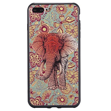 Maska Pentru Apple iPhone 7 Plus iPhone 7 Model Capac Spate Elefant Moale TPU pentru iPhone 7 Plus iPhone 7 iPhone 6s Plus iPhone 6s