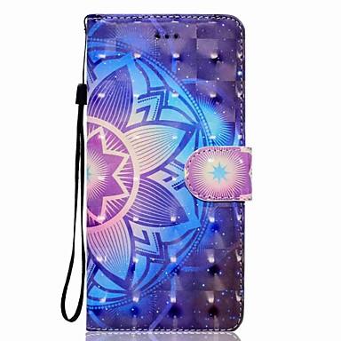 Maska Pentru Samsung Galaxy Note 8 Titluar Card Portofel Cu Stand Întoarce Magnetic Model Carcasă Telefon Mandala Greu PU piele pentru