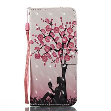 Maska Pentru Samsung Galaxy S8 Plus S8 Portofel Titluar Card Cu Stand Întoarce Model Magnetic Corp Plin Copac Greu TPU pentru S8 S8 Plus