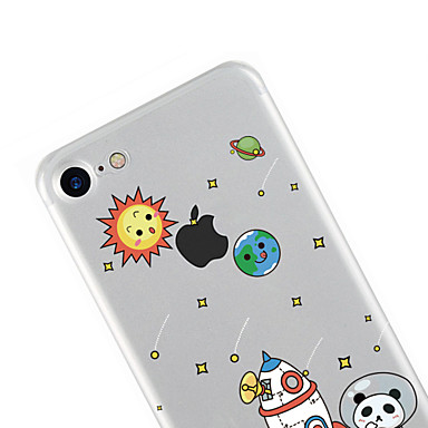 Morbido Per 7 Custodia iPhone Fantasia Plus iPhone TPU 06205192 animati disegno Transparente Apple per Cartoni Per retro 7 Plus 7 iPhone dx11nw6S