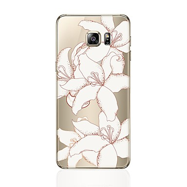 Case For Samsung Galaxy S8 Plus S8 Transparent Pattern Back Cover Flower Soft TPU for S8 Plus S8 S7 edge S7 S6 edge plus S6 edge S6 S5 S4
