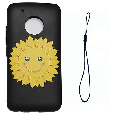 Maska Pentru Motorola Model Capac Spate Floare Moale TPU pentru Moto G5 Plus Moto G5