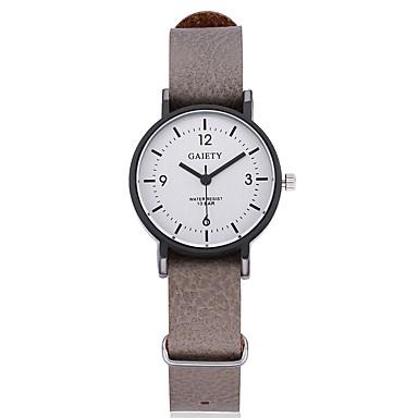 Bărbați Pentru femei Quartz Ceas de Mână Chineză Ceas Casual Piele Bandă Casual Boem Unic Watch Creative Ceas Elegant Modă Cool Negru