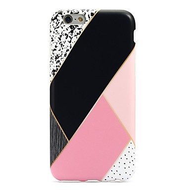 Pentru iPhone 7 iPhone 7 Plus Carcase Huse Ultra subțire Model Carcasă Spate Maska Model Geometric Moale TPU pentru Apple iPhone 7 Plus