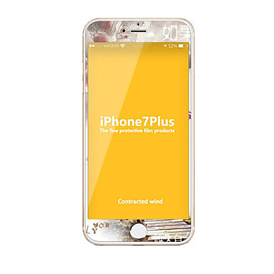 Sticlă securizată Ecran protector pentru Apple iPhone 7 Plus Ecran Protecție Întreg High Definition (HD) 9H Duritate La explozie Model