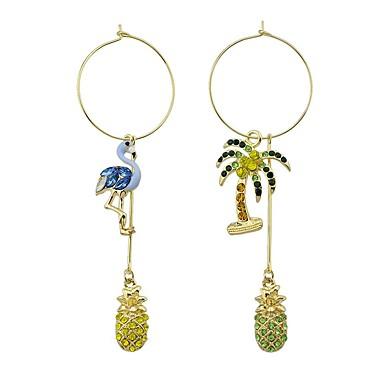 84b61f658 cheap Earrings-Women's Synthetic Diamond Mismatched Drop Earrings  Rhinestone Earrings Bird