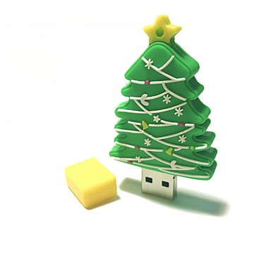 2gb Crăciun usb flash drive desen animat creativ Crăciun copac Crăciun cadou usb 2.0