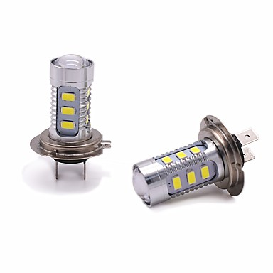 2pcs H7 Car Light Bulbs 11W SMD 3528 1000lm 13 Headlamp For universal All years