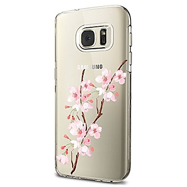 Case For Samsung Galaxy S8 Plus S8 Transparent Pattern Back Cover Flower Soft TPU for S8 Plus S8 S7 edge S7 S6 edge plus S6 edge S6 S6