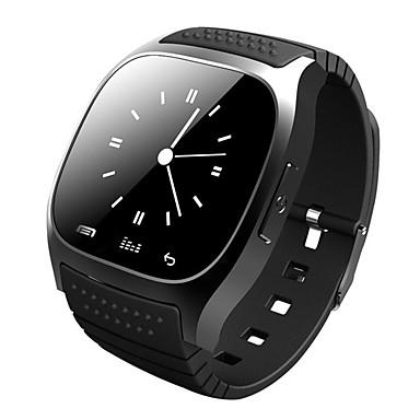 tijd eigenaar m26 bluetooth klok slimme horloges android draagbare apparaten sociale
