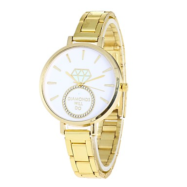 Pentru femei Ceas de Mână Ceas La Modă Chineză Quartz cald Vânzare Aliaj Bandă Casual Auriu