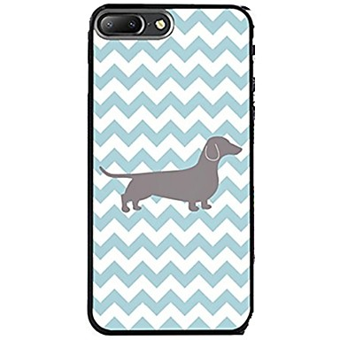 Case For Apple iPhone X iPhone 8 Pattern Back Cover Lines / Waves Dog Soft TPU for iPhone X iPhone 8 Plus iPhone 8 iPhone 7 Plus iPhone 7