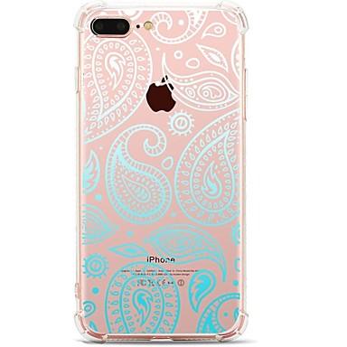 Pentru iPhone 7 iPhone 7 Plus Carcase Huse Ultra subțire Model Carcasă Spate Maska dantelă de imprimare Moale TPU pentru Apple iPhone 7