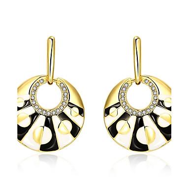 Pentru femei Cercei Stud Cercei Picătură Cristal Zirconiu Cubic Sintetic Opal Ștras Personalizat Lux Cute Stil Modă În Cruce Cristal